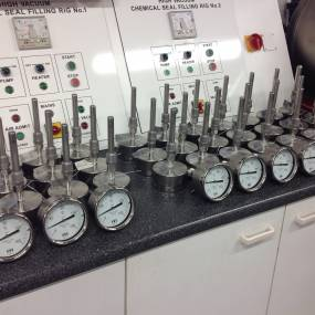 100mm H207 Dial Thermometers 0/160°C with 1/2