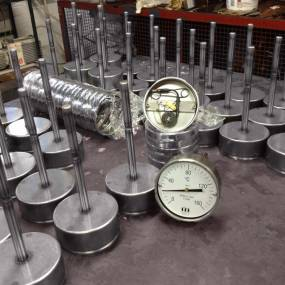 Production of GOST-R H207 Dial Thermometers for Export to Russia