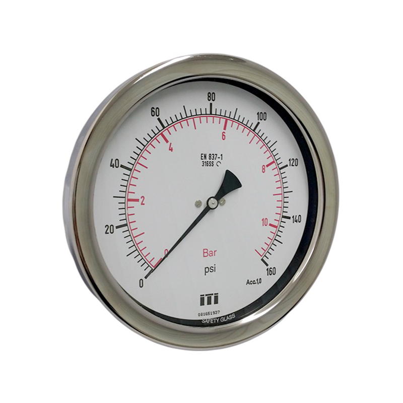 160mm 6 Quot All Ss Process Pressure Gauge American Case
